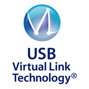USB virtual link technology ロゴ